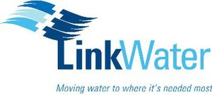 LinkWater - Image: D 10 4124 Link Water moving water logo (JPEG)