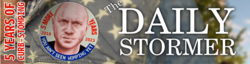 The Daily Stormer logo