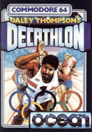 Daley Thompson's Decathlon - Image: Daley Thompson's Decathlon Cover
