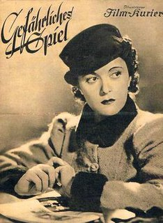<i>Dangerous Game</i> (1937 film) 1937 film