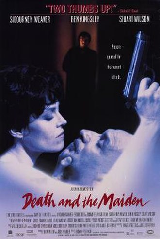 Death and the Maiden (film) - Theatrical release poster