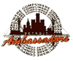 Detroit Compuware Ambassadors - Image: Det Compuware Ambassadors 2
