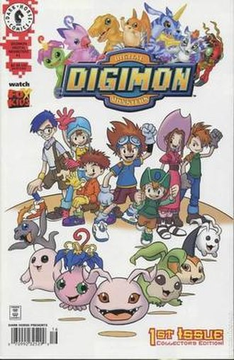 Digimon Adventure - Image: Digimon Dark Horse
