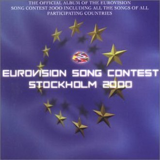 Eurovision Song Contest 2000 - Image: ESC 2000 album cover