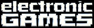 Electronic Games - Image: Electronic Games Logo