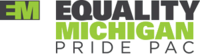 Equality Michigan Pride PAC logo