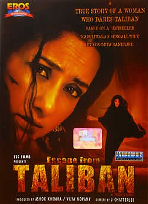 Escape from Taliban - DVD cover