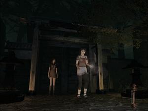 Fatal Frame II: Crimson Butterfly - Image: Fatal Frame II field mode screenshot