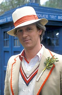 Fifth Doctor fictional character from Doctor Who