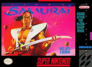 <i>First Samurai</i> (video game) 1991 computer and video game