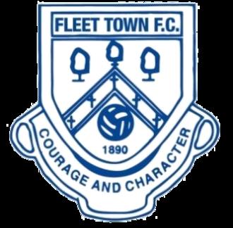 Fleet Town F.C. - Image: Fleet Town F.C. logo