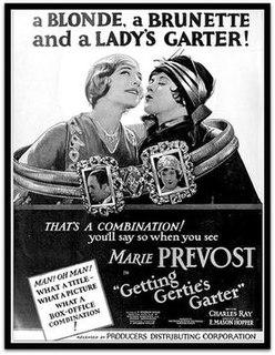 <i>Getting Gerties Garter</i> (1927 film) 1927 film