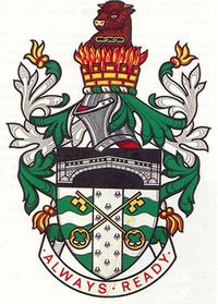 Arms of Glanford Borough Council