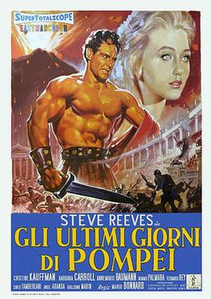 The Last Days of Pompeii (1959 film) - Theatrical release poster
