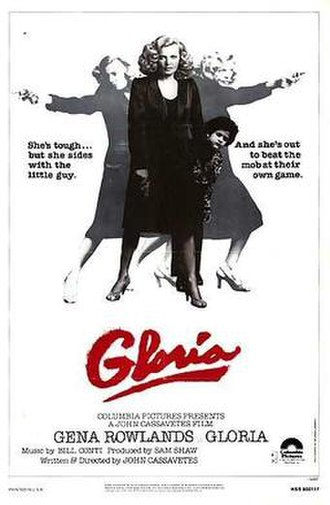Gloria (1980 film) - Theatrical release poster