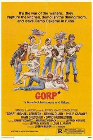Gorp (film) - Theatrical release poster