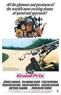 <i>Grand Prix</i> (1966 film) 1966 American action film by John Frankenheimer