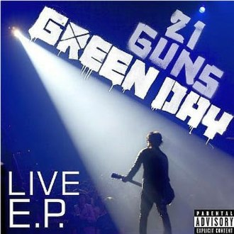 21 Guns (song) - Image: Green Day 21 Guns Live EP cover