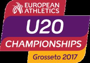 2017 European Athletics U20 Championships - Image: Grosseto 2017logo