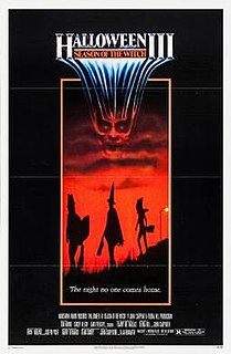 <i>Halloween III: Season of the Witch</i> 1982 horror film directed by Tommy Lee Wallace