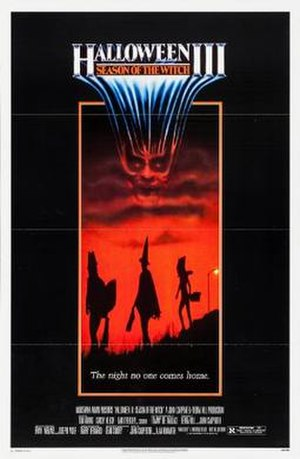 Halloween III: Season of the Witch - Theatrical release poster