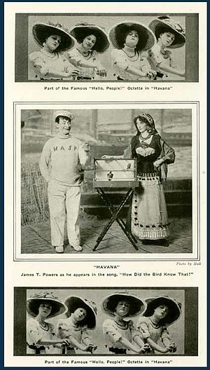 Havana (Edwardian musical) - Scenes from the 1909 New York production of Havana