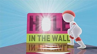 <i>Hole in the Wall</i> (Australian game show) Australian television game show
