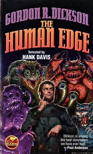 The Human Edge - Cover of the first edition