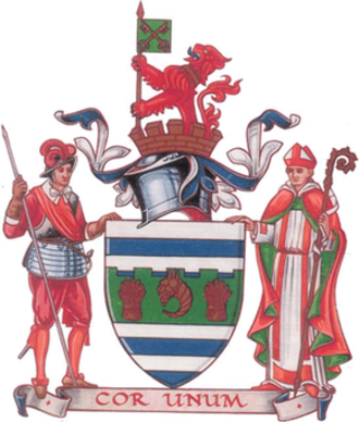 Huntingdon and Peterborough - The Arms of The Huntingdon and Peterborough County Council