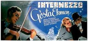 Intermezzo (1936 film) - Swedish film poster