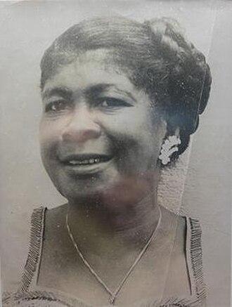 "Isabel Luberza Oppenheimer - Isabel ""la Negra"" Luberza Oppenheimer, ca. 1950"