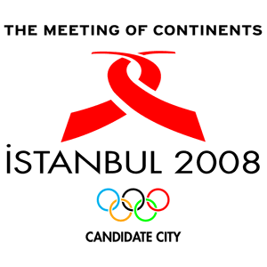 Bids for the 2008 Summer Olympics - Logo of Istanbul's campaign.