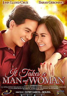 <i>It Takes a Man and a Woman</i> 2013 film directed by Cathy Garcia-Molina
