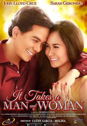 It Takes a Man and a Woman - Theatrical movie poster