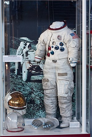 James Irwin - Irwin's Apollo 15 space suit