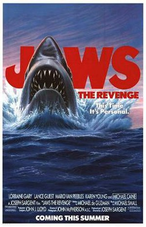 Jaws: The Revenge - Theatrical release poster