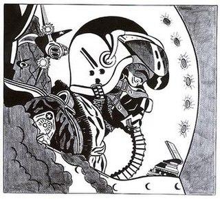 <i>Jet Pilot</i> (Roy Lichtenstein) painting by Roy Lichtenstein