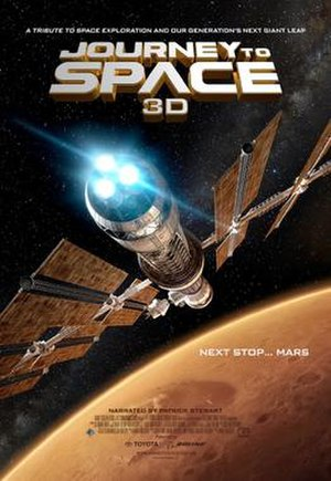 Journey to Space - Theatrical release poster