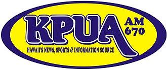 KPUA - Image: KPUA AM 670 radio logo