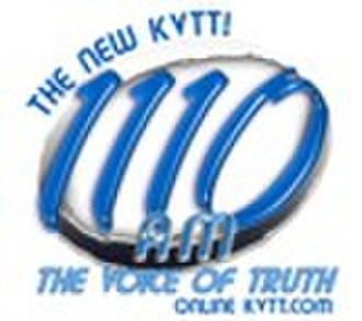 KVTT - 1110 AM KVTT logo used from October 2009 to July 2010.