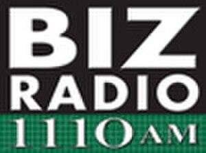 KVTT - Biz Radio 1110 logo used from 2008 to 2009