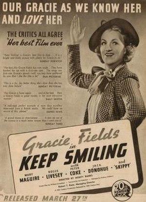 Keep Smiling (1938 film) - Image: Keep Smiling (1938 film)