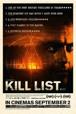 Kill List - UK theatrical release poster