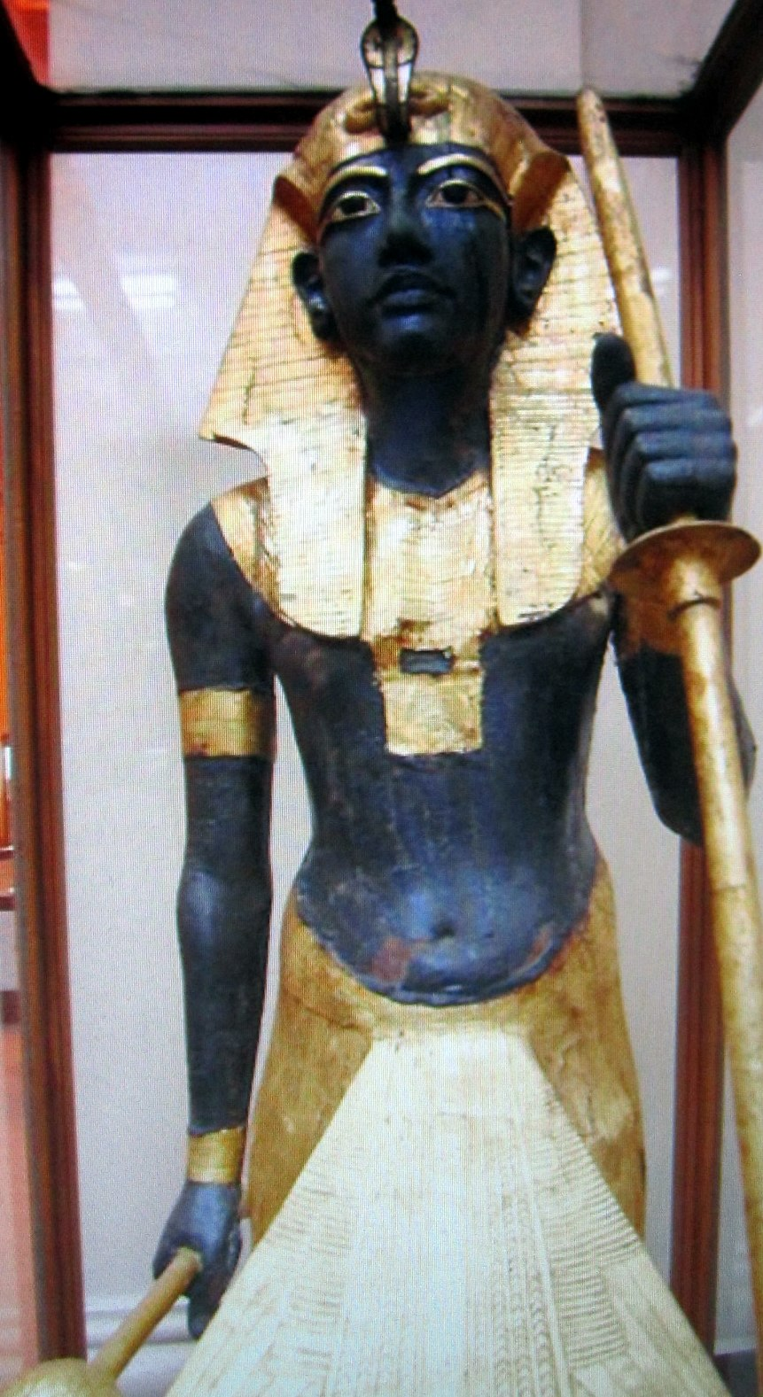 King Tutankhamun Guardian Statue