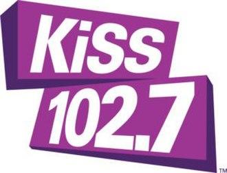 WLYK - Image: Kiss 102.7 logo