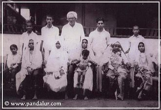 Pandalur - Kunalikutty Haji - A family photo 1930