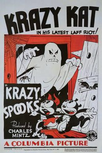 Krazy Spooks - Theatrical poster