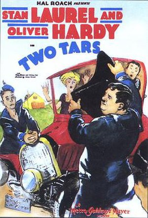 Two Tars - Theatrical poster