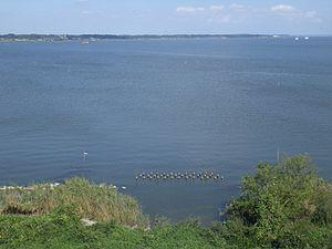 Lake Kasumigaura - Lake Kasumigaura from Tsuchiura city.
