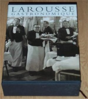 Larousse Gastronomique - 2001 hardback edition in its box